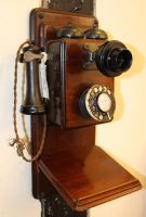 Old Fashioned Phone 2 by fuguestock