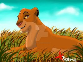 The Lion King - Zema : Simba's sister by Diego32Tiger