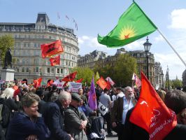 May Day Rally in Trafalgar Sqaure by Party9999999