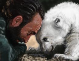 knut and keeper by nosoart