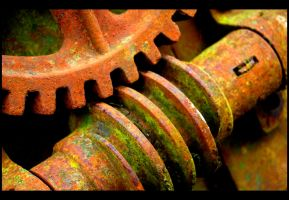 worm and wheel by awjay