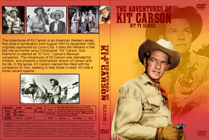 Adventures of Kit Carson DVD Cover by Black-Battlecat