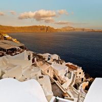sunset from Oia by panos-gr