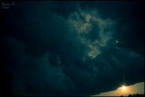 Stormy clouds by DeathOfParadise