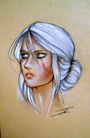 Ciri by NienorGreenfield