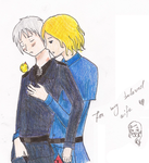 France x Prussia by DevilOfHapiness