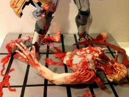 Dead Space model, statue, diorama for sale by johnstewartart