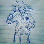 goku para presidente! by luroper