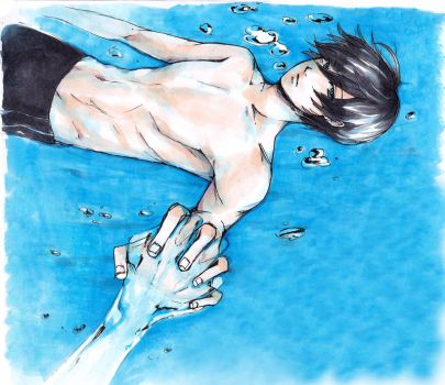 Feel the Water by sawa-rint