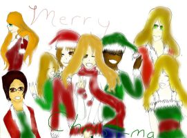 Merry Christmas from the Triple Bakas! by Dyegth