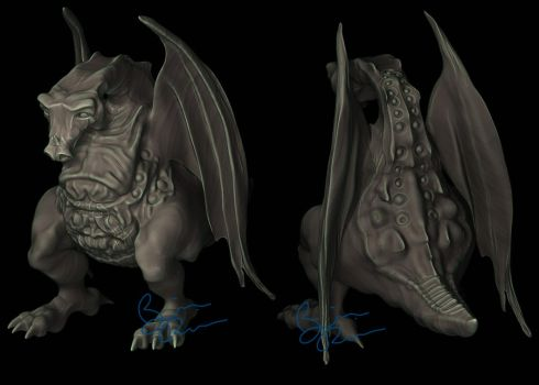 battle dragon by rio3d