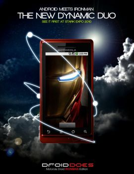 Droid Ironman Edition by illmatic1