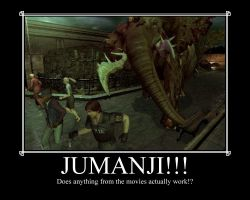Resident Evil Jumanji by LegendaryDragon90
