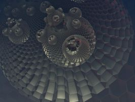 Metal Honeycomb bulbs by Undead-Academy