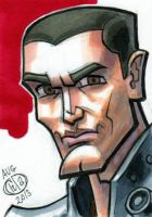 Galen Marek Sketch Card by Chad73