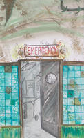 Emergency room by Granitoons