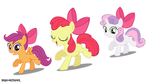 Cutie Mark Cuties by DragonChaser123
