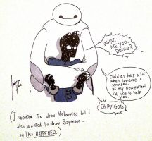 Baymax is here. by Lupettabianca98