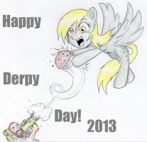 Happy derpy day 2013!  (Nice catch!) by joelashimself