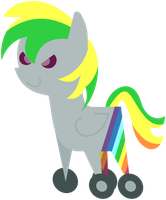 Pointy Pony Wheely Bopper by masemj
