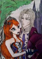 Valtor and Bloom. Gothic dreams. by ReliX-RealiX
