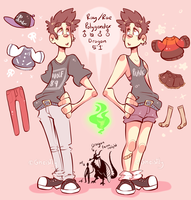 Ray human ref by Gheistly