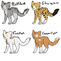 ~FREE WARRIORS ADOPTS~ OPEN by radioactiveNight