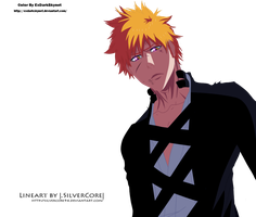 Unfinished  Ichigo by ExDarkSkynet