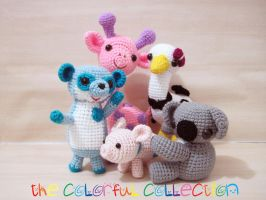 the colorful collection by SNCxCreations