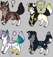 Puppies Auction by Sapphira-Page