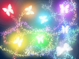 Butterflies wallpaper by Tiger-aka-Tila-