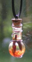 Magic Charm - Fire Element by Izile