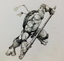 Donatello by Zombiraptor