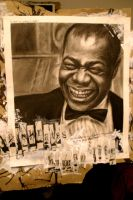 louis armstrong by RubyRedPhotography