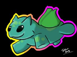 Speed Doodle - Bulbasaur Awesomeness by Tegalad2