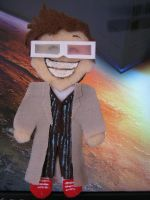 Doctor Number Ten Plush by Raechi-Cherie