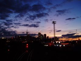 Auckland at Dusk by chinofeliz