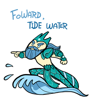 Smite - Forward, Tide Water (Chibi) by Zennore