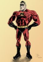 Mr. Incredible color by phil-cho