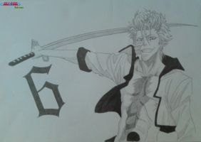 Grimmjow Jaegerjaques by 6cartercharlie6