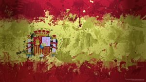 Spanish National Flag Wallpape by anonymouscreative