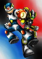 Megaman: The Light and Shadow by Memphiston