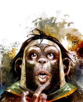 monkey hercules by rogercruz