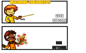 Measuring-Tape Roulette by Gafagear