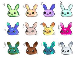 Bunnyslime (Closed) by Lilithina