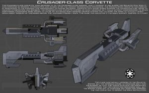 Crusader-class Corvette ortho [New] by unusualsuspex