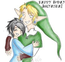 Happy Bday Jouyasha by Silver-the-kid