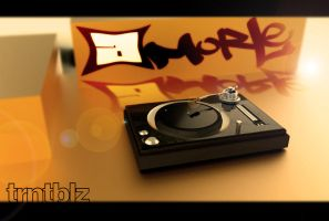 Turntables FINAL Render 1 by aMorle