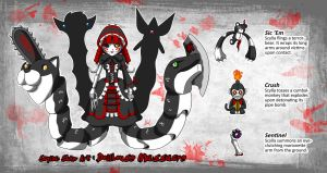 Smite Skin Art Concept: Scylla-Dollhouse Massacre by A-Lil-RnR
