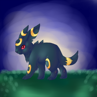 Umbreon by Sqwirry